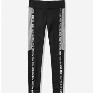 VS PINK Fleece Lined Leggings